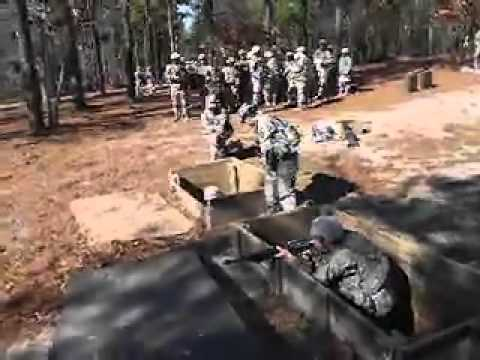Basic Training: Hand Grenade Qualification Course