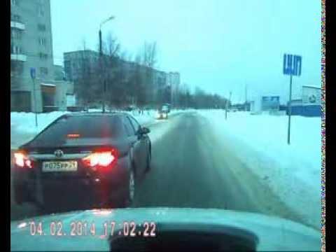 Грубое нарушение ПДД - норма для главной машины администрации Северодвинска