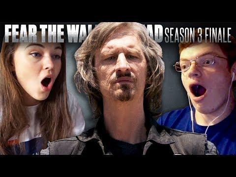 Fear the Walking Dead Season 3 FINALE  Fan Reaction Compilation!