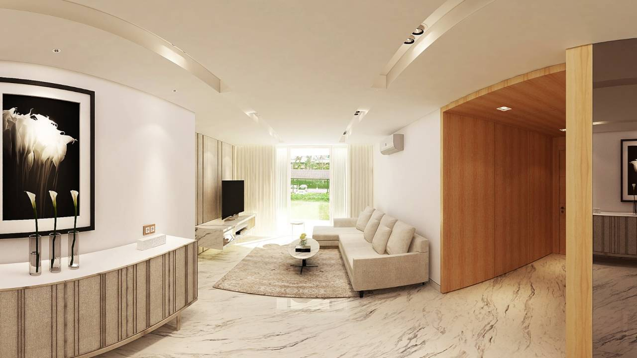 Friday studio 001 360 panorama condominium interior for Foto interior design