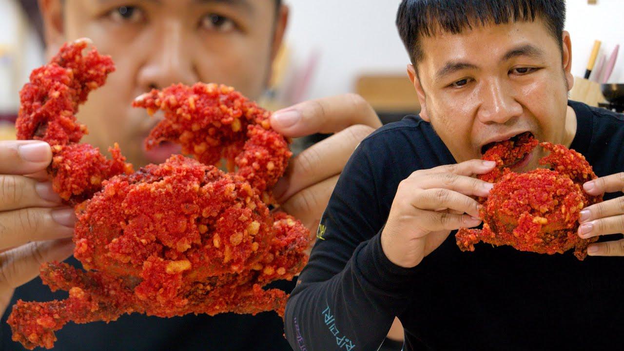 ทำปูทะเลไทย ให้เป็นปูอลาสก้า King Crab Cheetos
