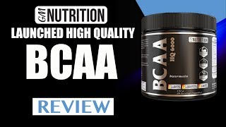 GM Nutrition launched Highest Quality BCAA - Review by Guru Mann