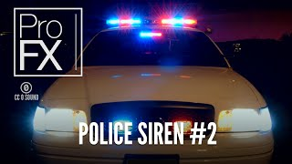 Police siren sound effect (2) | ProFX (Sound, Sound Effects, Free Sound Effects)