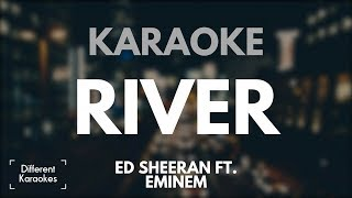 Ed Sheeran ft. Eminem - River (Karaoke/Instrumental)