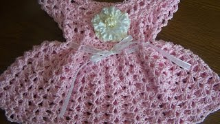 Repeat youtube video video 1 crochet sparkle  cotton baby girl spring summer dress