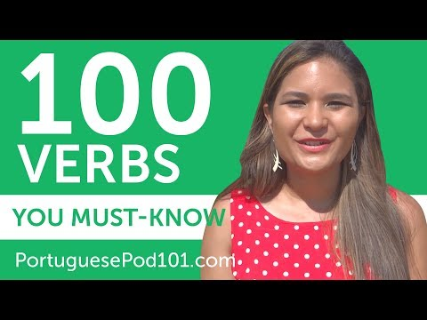 100 Verbs Every Portuguese Beginner Must-Know