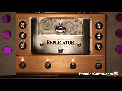 Review Demo - T-Rex Effects Replicator Delay