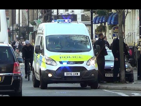 London Metropolitan Police Ford Transit on scene [UK | 13.4.2016]