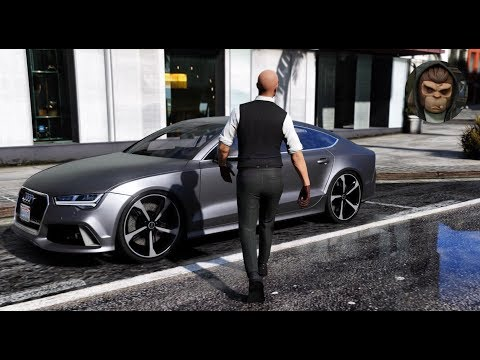 ► GTA 6 Graphics - Audi RS7! 2017 ✪ M.V.G.A. - Gameplay! Realistic Graphics MOD 60FPS