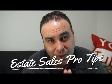 How to Make Money with Estate Sales Pro Tips