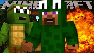 Minecraft - DEATH RUN - TINYTURTLE IS EVIL!!