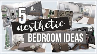 ROBLOX | Bloxburg: 5 Aesthetic Bedroom Ideas