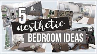 Roblox   Bloxburg: 5 Aesthetic Bedroom Ideas