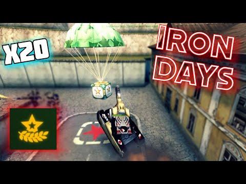 Tanki Online - Iron Days 2020 GoldBox Montage #2 - Black Golds!