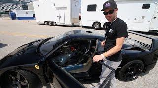 When You Find a Black Ferrari F40...