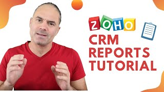 Every manager needs reports. This video will show you how to create ZOHO CRM Reports!