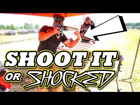 Shoot It or Get Shocked w/ a Twist | Lone Wolf Paintball Michigan