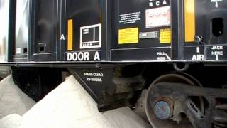 Modern Hopper Car Unloading