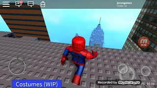Uau! (Roblox spider man)