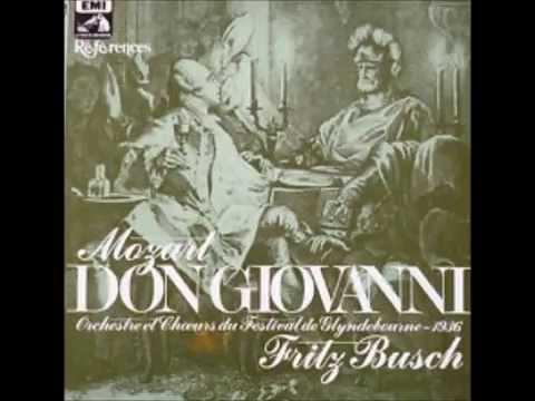 Mozart   Don Giovanni   Glyndebourne Fritz Busch 1936