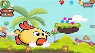 Trò chơi Gà con phiêu lưu đi cảnh rất hay Jungle Adventures Story 2 cu lỳ chơi game lồng tiếng vui