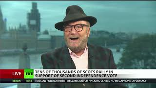 Galloway on Scottish independence: You can\'t keep running referenda until you get result you want