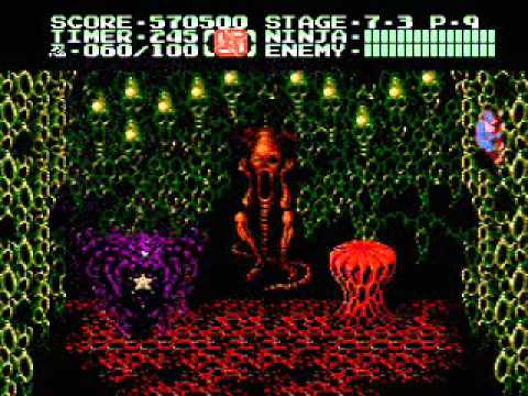 Ninja Gaiden 2 Nes Boss Run Youtube