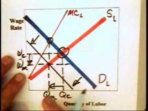 13.2 - Monopsony Labor (2 of 2)