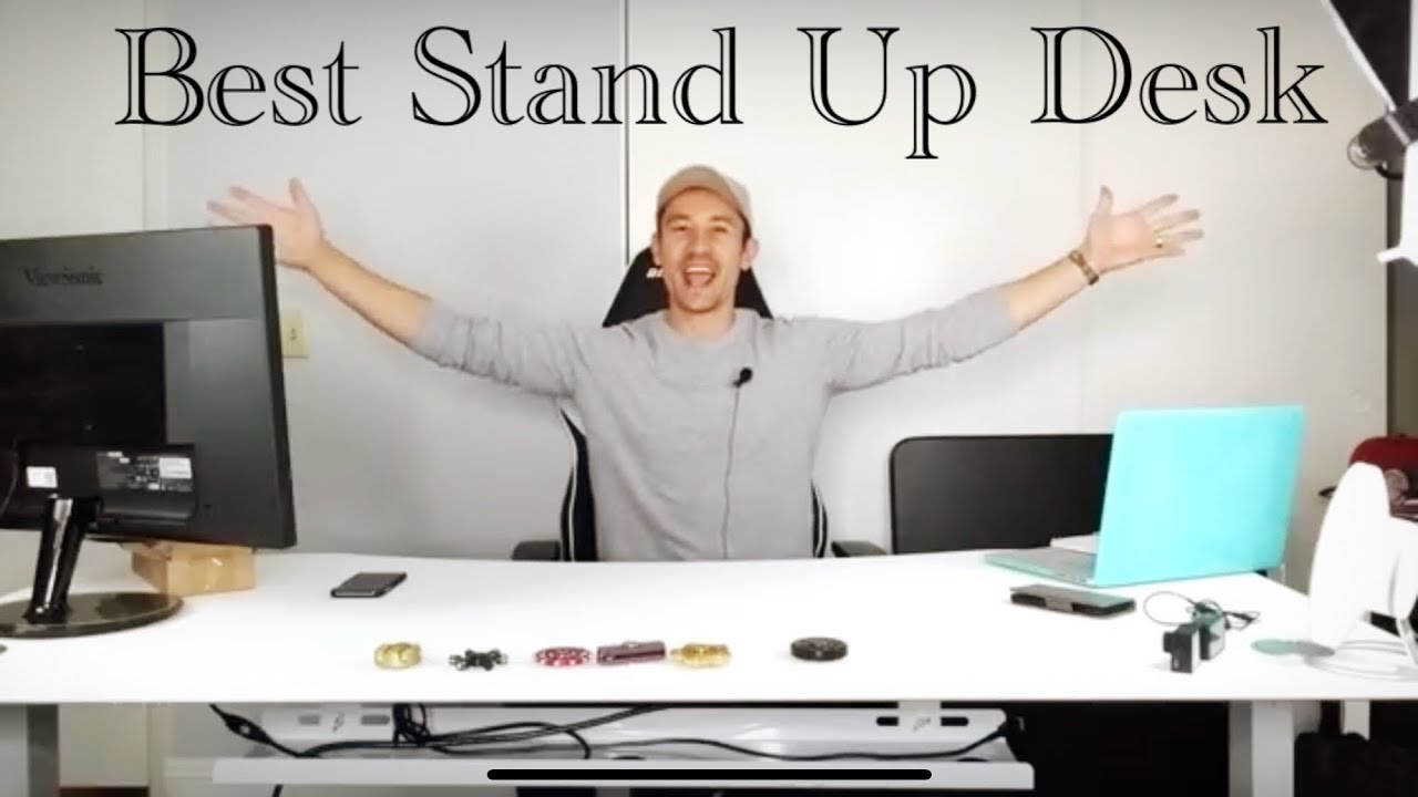 Apexdesk electric stand up sit down desk my best youtube office gaming desk