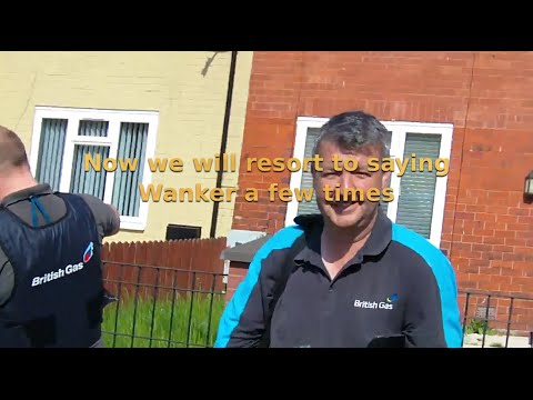 Part 1. Caught on camera: British Gas fail to force entry to a property via right of entry warrant