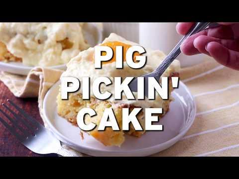 How To Make: PIG PICKIN' CAKE