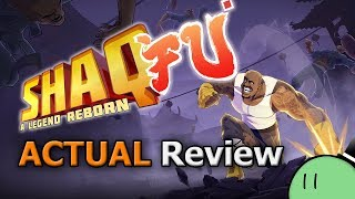 Shaq Fu: A Legend Reborn (ACTUAL Game Review)
