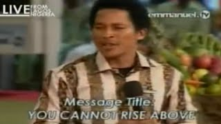 SCOAN 09/11/14: YOU CANNOT RISE ABOVE YOUR CONFESSION By Wiseman Daniel. Emmanuel TV