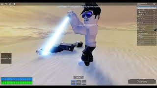roblox Star Wars: Lightsaber Battles II: got the 2 saber gamepasses