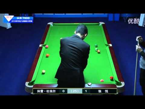 Corey Deuel VS Zhang Yue - 2016 World Chinese 8 Ball Masters