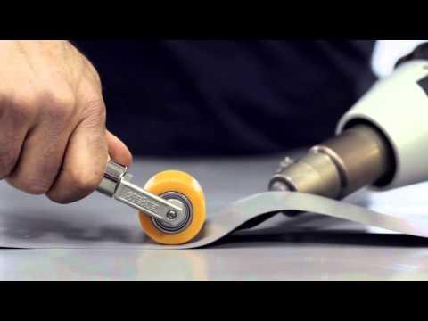 Using The Steinel HG2620E Heat Gun To Weld Tarpaulin