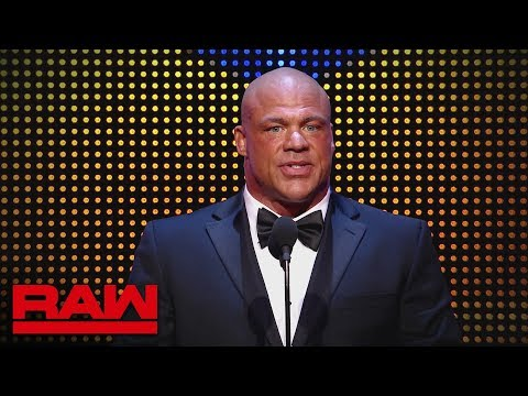 Raw celebrates Kurt Angle's career during his final red brand appearance: Raw, April 1, 2019