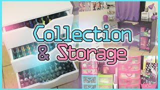 Nail Polish Collection And Storage 2014