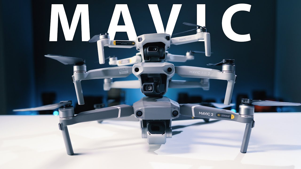 Dji Mavic Air 2 Vs Mavic Mini Vs Mavic 2 Pro Which Dji Drone Should You Buy Youtube