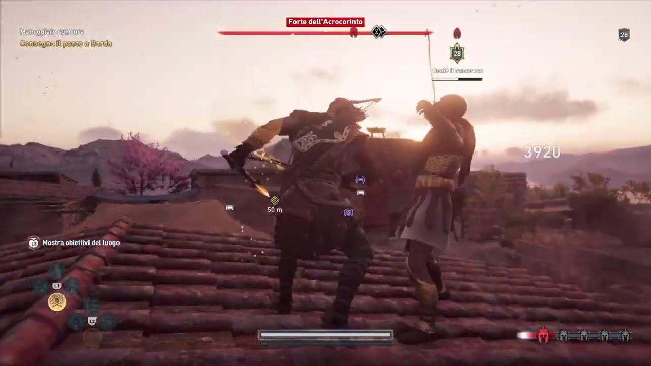 Download Assassin's Creed® Odyssey forte dell'Acrocorinto parte 1 e Oenio (mercenario 49)
