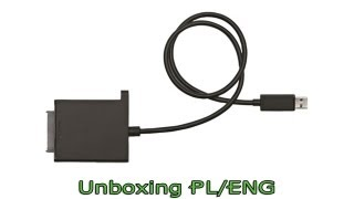 Xbox 360 Hard Drive Transfer Cable - Unboxing PL/ENG
