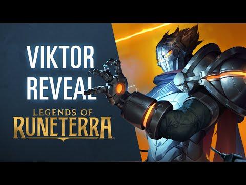 Viktor Reveal | New Champion - Legends of Runeterra