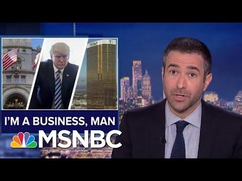 Trump Legal Blow: Court Revives Corruption Suit Against POTUS | The Beat With Ari Melber | MSNBC