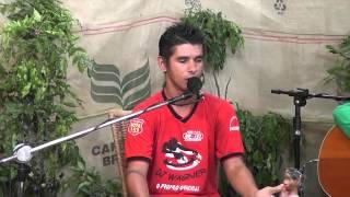 Luciano Gardenal e Fátima Leão no programa Prosa, Café e Viola n 192