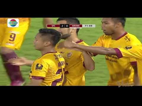 Piala Presiden 2018: Gol Abimanyu Sriwijaya FC (2) vs Arema FC (0)