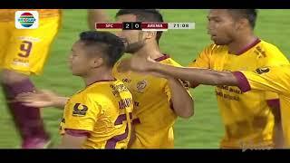 Video Gol Pertandingan Arema FC vs Sriwijaya FC