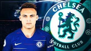 Baixar Atacant de Rezerva Transfer Lautaro Martínez la Chelsea || FIFA 19 Ro Chelsea #12