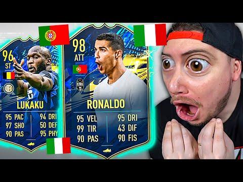 CRISTIANO RONALDO TOTS 98?! HO TROVATO 8 TOTS!! - TOTS SERIE A e BUNDESLIGA FIFA 21 PACK OPENING