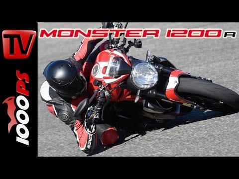 Ducati Monster 1200 R Test 2016 | Fazit, Action, Fahrverhalten (English Subs)