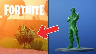 FORTNITE: WARNING, the new PETIT SOLDAT skin is VERY advantageous in certain situations